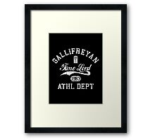 Gallifreyan Time Lord Framed Print
