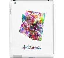 Arizona US state in watercolor iPad Case/Skin