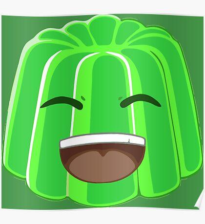 Green Jelly Youtuber vlog Poster