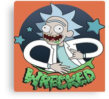 Rick And Morty Wrecked Canvas Print