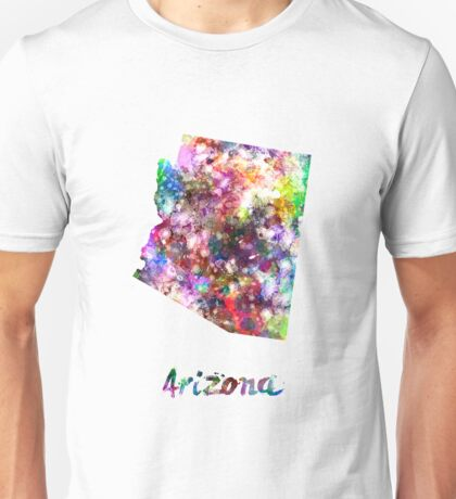 Arizona US state in watercolor Unisex T-Shirt