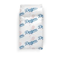 DODGERS BASEBALL LOGO Duvet Cover