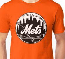 NY METS LOGO B/W Unisex T-Shirt
