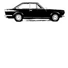 Fiat 124 Coupe by garts