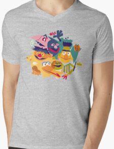 Sesame Street Mens V-Neck T-Shirt