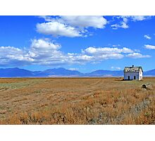 History on the Plains Photographic Print