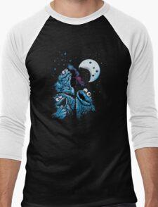 Theere Monster Cookies Men's Baseball ¾ T-Shirt