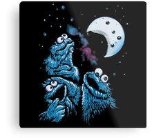 Theere Monster Cookies Metal Print