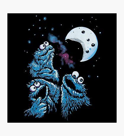 Theere Monster Cookies Photographic Print
