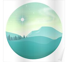 Evergreen Planet Poster