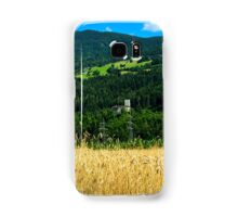 The Castle Petersberg in wooded hillside, Tirol, Austria Samsung Galaxy Case/Skin