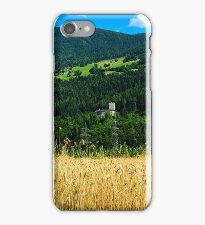 The Castle Petersberg in wooded hillside, Tirol, Austria iPhone Case/Skin