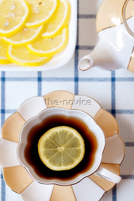 Tea and Lemon by the-novice