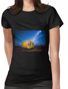 Journey to the Milky Way Womens Fitted T-Shirt