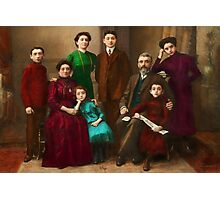 Americana - The Savatsky family Photographic Print