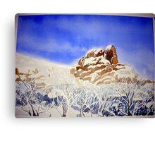 """""""Snow at Mt. Buffalo""""   Canvas Print"""