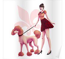 Marinette: Miraculous Dog Walker Poster