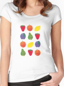 Fruits! Women's Fitted Scoop T-Shirt