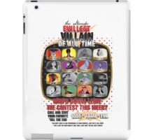 The Evillest Villain iPad Case/Skin