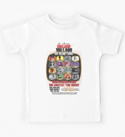 The Evillest Villain Kids Tee
