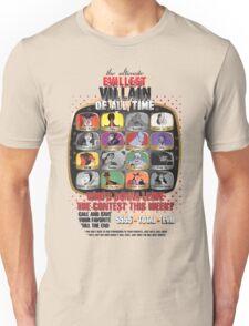 The Evillest Villain Unisex T-Shirt