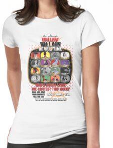 The Evillest Villain Womens Fitted T-Shirt