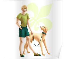 Adrien: Miraculous Dog Walker Poster