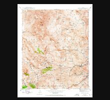 USGS TOPO Map Arizona AZ Inspiration 311888 1945 24000 Unisex T-Shirt