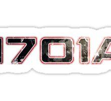 Registry 1701A Sticker