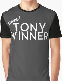 Future Tony Winner (White Text) Graphic T-Shirt