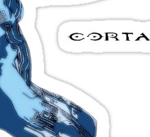 Cortana meet Cortana Sticker