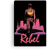 Rebel Canvas Print