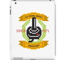 Old School Gamer Academy iPad Case/Skin