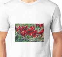 Sturt's Desert Pea Unisex T-Shirt