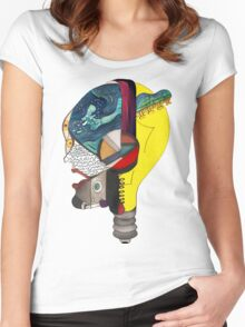 Audiophile Women's Fitted Scoop T-Shirt