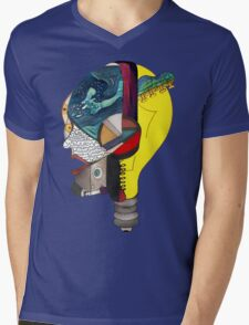 Audiophile Mens V-Neck T-Shirt