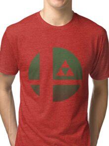 Super Smash Bros - Link Tri-blend T-Shirt