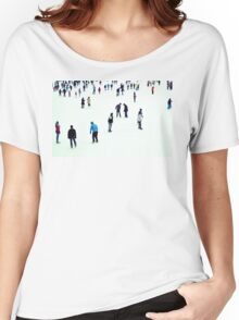 ice skaters Women's Relaxed Fit T-Shirt