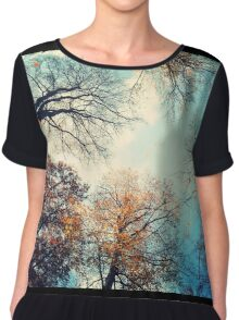 tree monsters from below Chiffon Top
