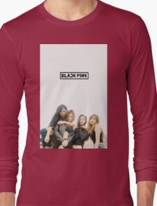 black pink 5 Long Sleeve T-Shirt