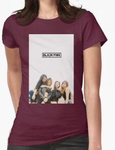 black pink 5 Womens Fitted T-Shirt
