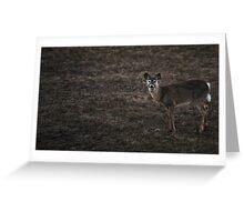 """""""Deer"""" Greeting Card"""