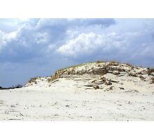 Sculpted Sand Dune - Island Beach State Park - NJ - USA Photographic Print