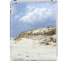 Sculpted Sand Dune - Island Beach State Park - NJ - USA iPad Case/Skin