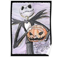 Jack The Pumpkin King Poster