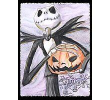 Jack The Pumpkin King Photographic Print