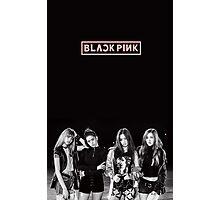 black pink 6 Photographic Print