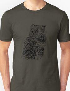 Inked Up Owl T-Shirt