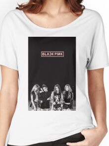 black pink 6 Women's Relaxed Fit T-Shirt