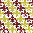 Yellow Flor De Lis by IamJane--